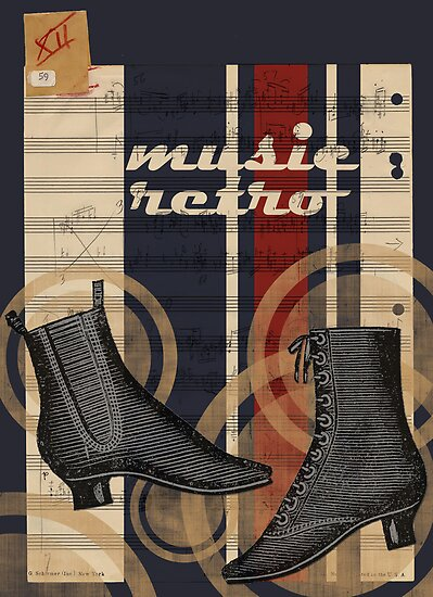 Retro music (graphic) by buyart