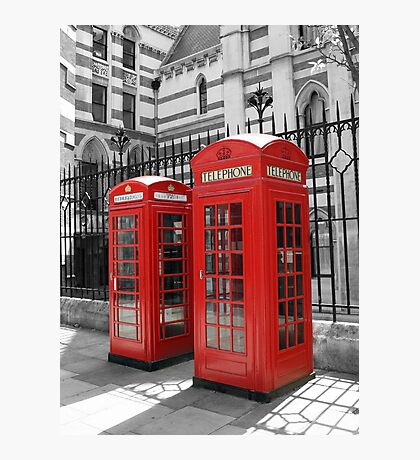 London Red Telephone Box Photographic Print