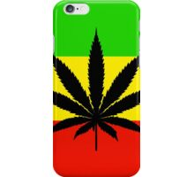 Rasta Pot iPhone Case/Skin