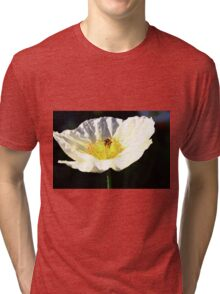 Bee On A Flower Tri-blend T-Shirt
