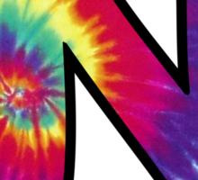 University of North Carolina Tie Dye Logo Sticker