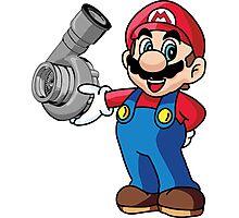 Mario Turbo Photographic Print