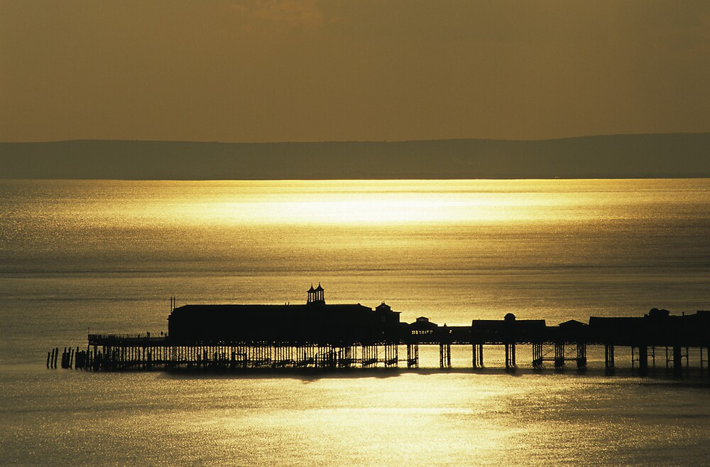 Hastings Pier by Kasia Nowak