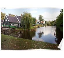 Dutch Cottage Poster