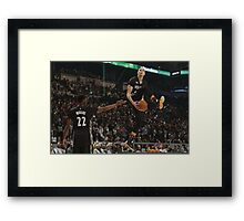Bounce Brothers Framed Print