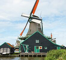Windmill on Water by Duncan Payne
