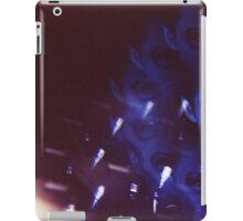 Swirls in Dark - analog 35mm color film photo iPad Case/Skin