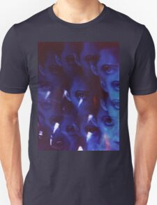 Swirls in Dark - analog 35mm color film photo T-Shirt