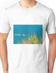 On The Edge, Devon, England Unisex T-Shirt