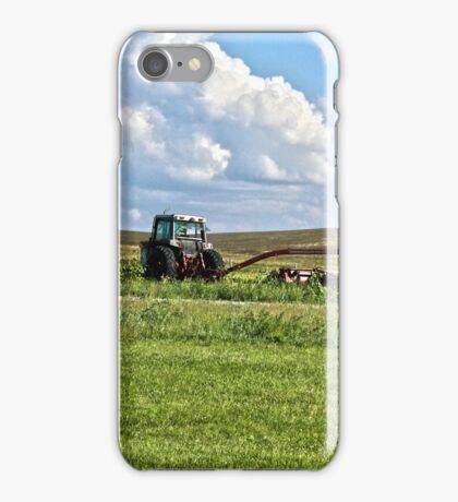 Vehicle On A Farm iPhone Case/Skin