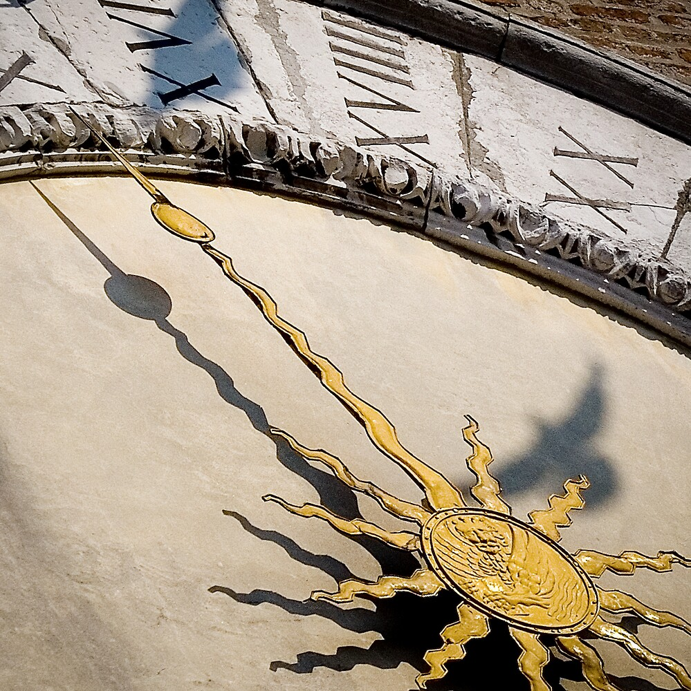 Venice Clock by Michael Mancini