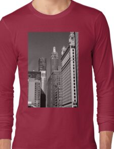 Chicago Skyscrapers Long Sleeve T-Shirt
