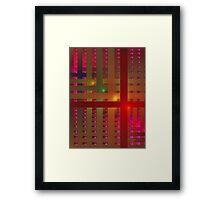 'Spectral Progression' Framed Print