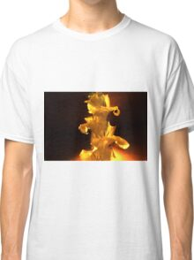 Yellow Flowers On A Stem Classic T-Shirt