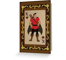 The Evil Huntsman Greeting Card