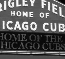 Chicago Cubs - Wrigley Field Sticker
