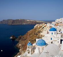 Ía morning Santorini, Greece by Andrew Conn