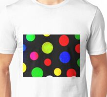 Circles Are Just Square's With The Points Rubbed Off Unisex T-Shirt