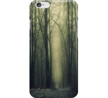 """""""Do not go where the path may lead"""" iPhone Case/Skin"""