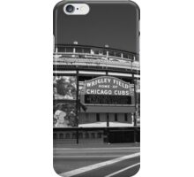 Wrigley Field - Chicago Cubs iPhone Case/Skin