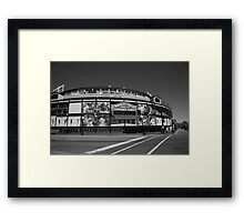 Wrigley Field - Chicago Cubs Framed Print