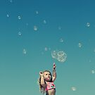 """I'm gonna catch every single bubble!"" by Kristina Gale"
