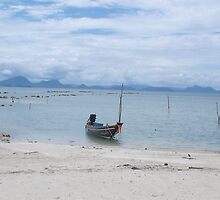 Boat in Paradise  by Mish01
