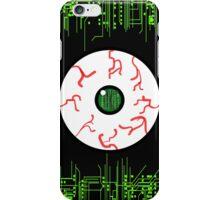 Robotic Matrix Code Eye iPhone Case/Skin