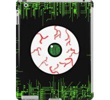 Robotic Matrix Code Eye iPad Case/Skin