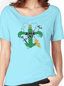 St. Patrick's Day Crawfish Fleur de Lis Women's Relaxed Fit T-Shirt