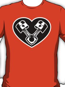 Piston Heart T-Shirt