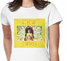 FKA Twigs Yellow Womens Fitted T-Shirt
