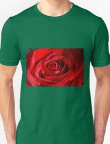 Red Petals Of A Rose T-Shirt