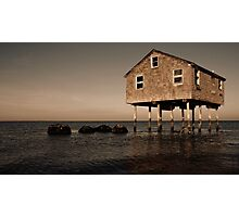 The House at Lazy Point  Photographic Print
