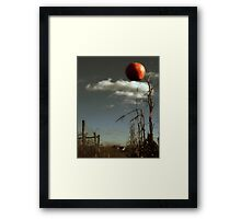 Sometimes the apple DOES fall far from the tree Framed Print