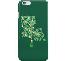 Louisiana State Wrapped in St. Patty Beads iPhone Case/Skin