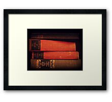 There's Nothing Like a Good Book Framed Print