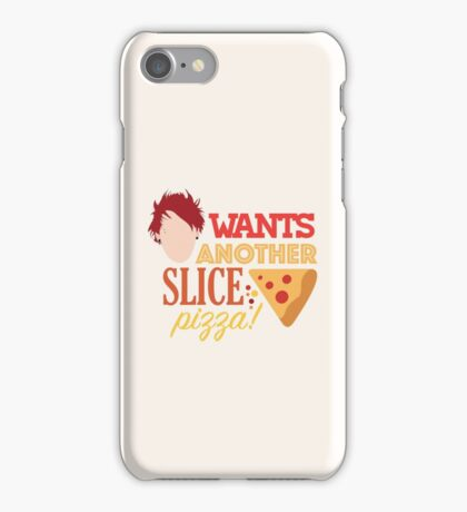 Michael wants another slice! iPhone Case/Skin