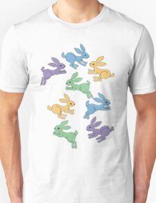 Rabbit Habit/Lotsa Leapin' Lapin Unisex T-Shirt