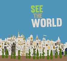 see the world, it's a small world, disneyland by chicamarsh1