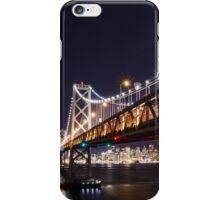 SF Bay Bridge at Night iPhone Case/Skin