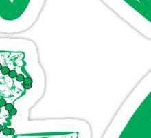 I heart NOLA (Green) Sticker
