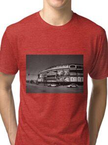 Wrigley Field - Chicago Cubs Tri-blend T-Shirt