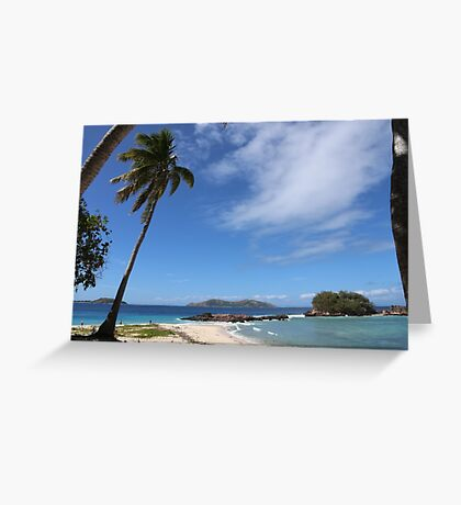 Fiji Paradise Greeting Card