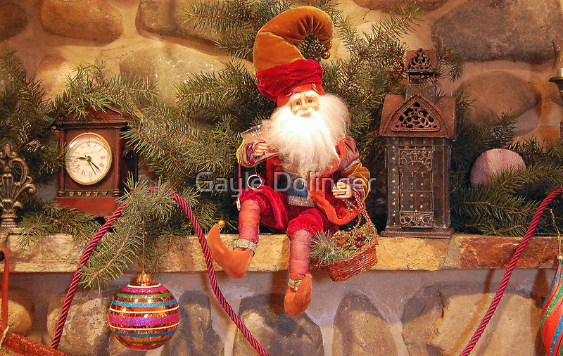 The Christmas Mantel by Gayle Dolinger