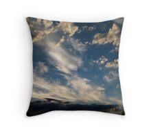 Evening Skyscape Port Melbourne Throw Pillow