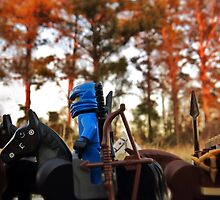 Blue Ninja arrival at the Swamp 2 by bricksailboat