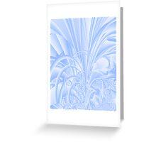 Icy Window Greeting Card