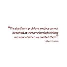 Solving significant problems... (Amazing Sayings) by gshapley