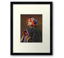 """Nano-tech in my neural pathways""........ Framed Print"